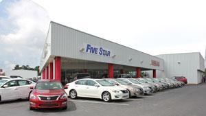 five star nissan florence florence sc 29501 4007 car dealership and auto financing autotrader. Black Bedroom Furniture Sets. Home Design Ideas