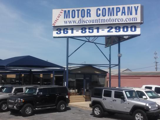 discount motor company car dealership in corpus christi