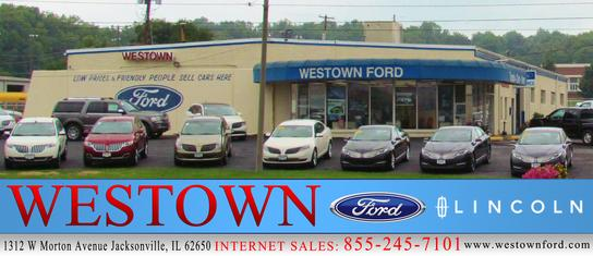 westown ford lincoln car dealership in jacksonville il 62650 kelley blue book. Black Bedroom Furniture Sets. Home Design Ideas