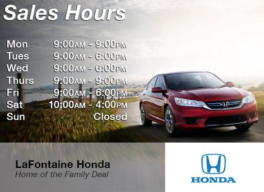 lafontaine honda honda dealer dearborn mi new used