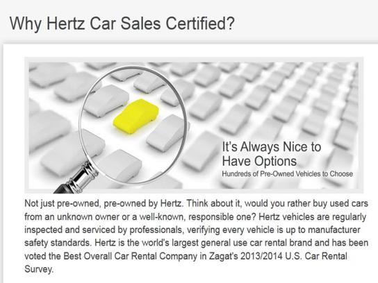 Hertz Rental Car Sales Seattle