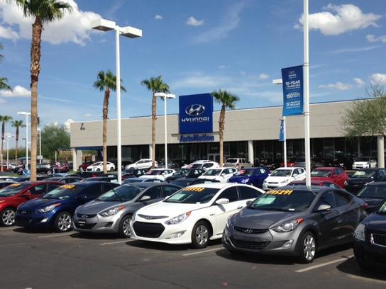 Autonation Hyundai Tempe Tempe Az 85284 Car Dealership