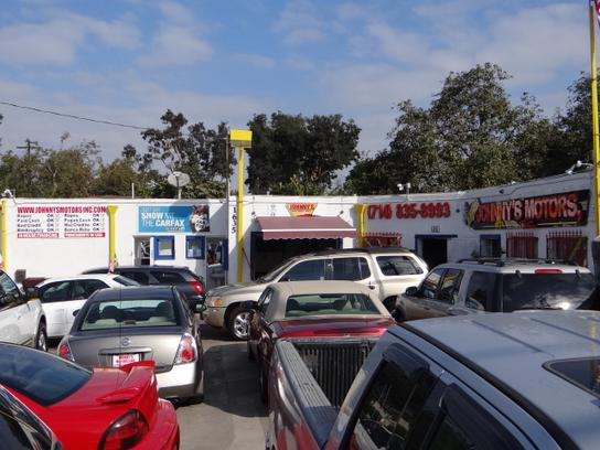 johnny 39 s motors inc car dealership in santa ana ca 92703