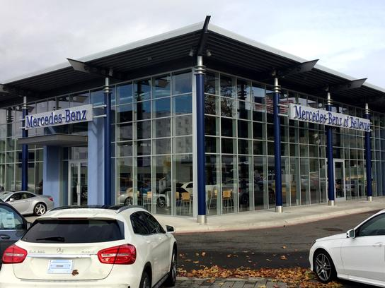 mercedes benz of bellevue car dealership in bellevue wa