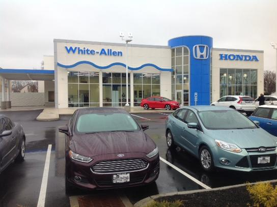 white allen honda car dealership in dayton oh 45405 4924