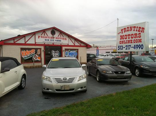 frontier motors oh middletown oh 45044 car dealership