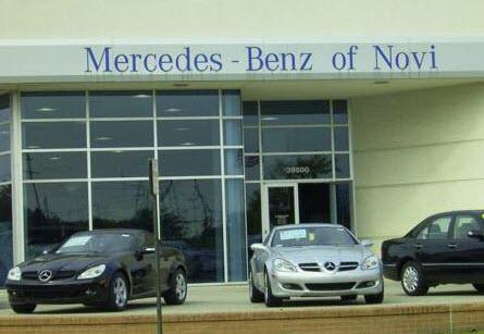mercedes benz of novi novi mi 48375 car dealership and