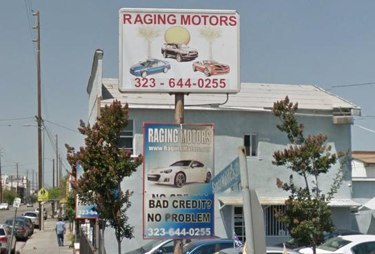 RAGING MOTORS 1