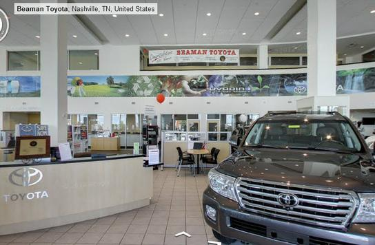 What are the hours of Beaman Toyota in Nashville?
