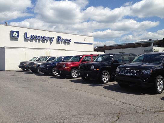 Used Car Dealerships Syracuse Ny >> Lowery Bros Chrysler Jeep : Syracuse, NY 13204 Car ...