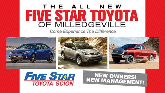 Five Star Toyota of Milledgeville