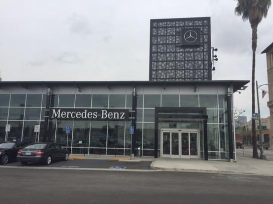 Downtown la motors new mercedes benz dealership in los for Mercedes benz los angeles dealers