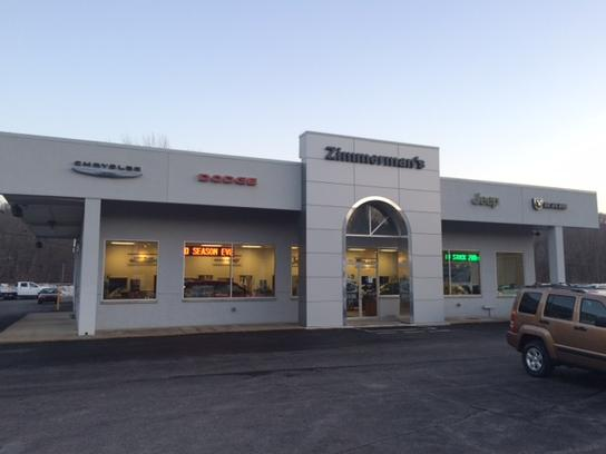 Zimmerman Chrysler Dodge Jeep Ram Sunbury Pa 17801 Car