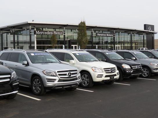 Hendrick motors of charlotte car dealership in charlotte for Hendrick mercedes benz charlotte north carolina