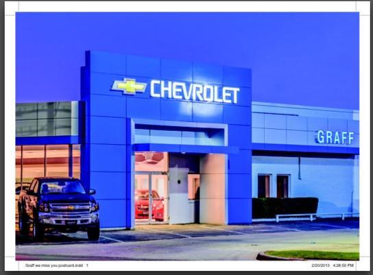 graff chevrolet tx car dealership in grand prairie tx 75050 kelley blue book. Black Bedroom Furniture Sets. Home Design Ideas