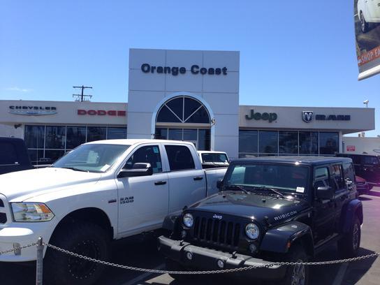 Orange Coast Chrysler Jeep Dodge Car Dealership In Costa
