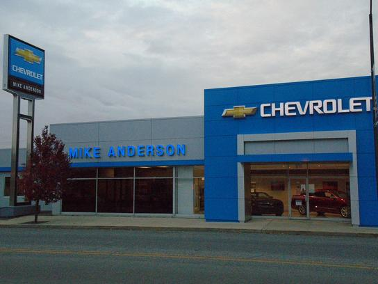 Mike Anderson Chevrolet Gas City : GAS CITY, IN 46933-1455 ...