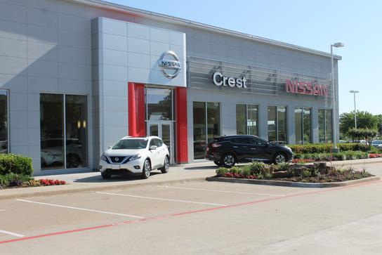 crest nissan car dealership in frisco tx 75034 kelley blue book. Black Bedroom Furniture Sets. Home Design Ideas
