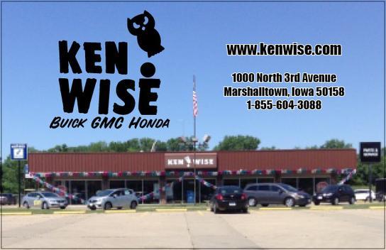 Ken Wise Buick Gmc Buick Dealership In Marshalltown Ia