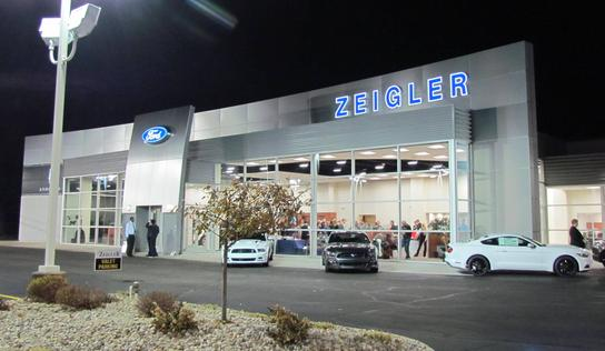 Harold Zeigler Ford Lincoln Car Dealership In Elkhart In