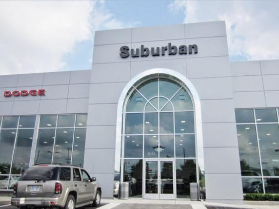 Suburban Chrysler Dodge Jeep RAM of Garden City car dealership in