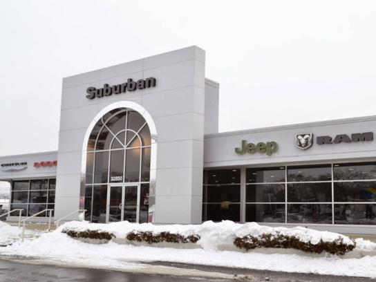 Suburban Chrysler Dodge Jeep Ram Of Garden City Car Dealership In Garden City Mi 48150 Kelley