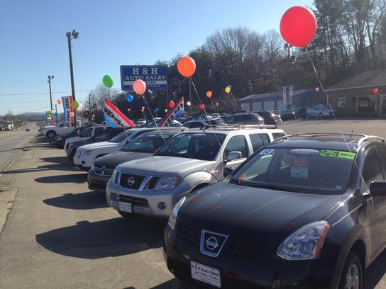 h and h auto sales car dealership in mt airy nc 27030