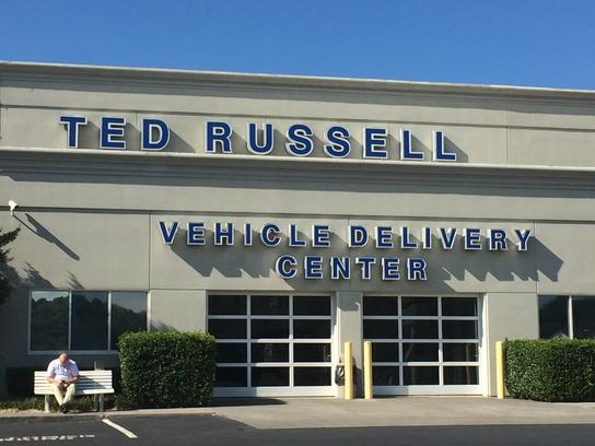 ted russell ford parkside drive : knoxville, tn 37922-2208 car