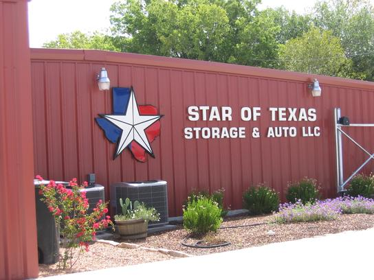 Star of Texas - Storage  and Auto