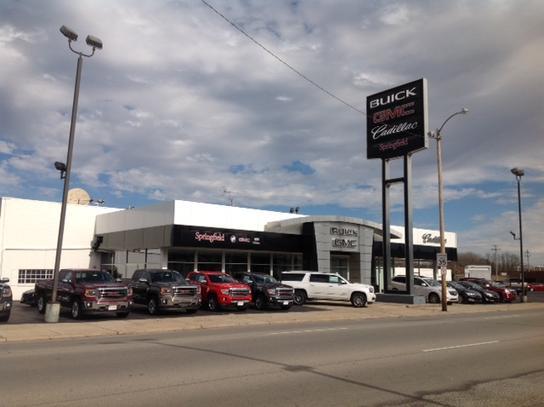 Springfield Buick GMC Cadillac SPRINGFIELD OH Car - Buick springfield