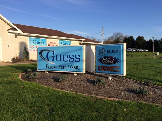 guess ford buick gmc car dealership in carrollton oh