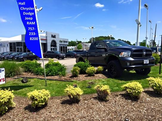 Hall Chrysler Dodge Jeep Ram Chesapeake Car Dealership In