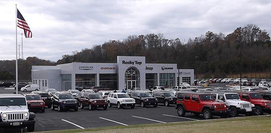 rocky top chrysler jeep dodge car dealership in kodak tn 37764 kelley blue book. Black Bedroom Furniture Sets. Home Design Ideas