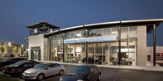 Mercedes benz of alexandria car dealership in alexandria for Mercedes benz dealer in va