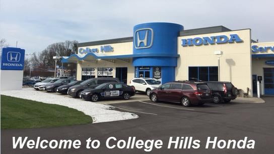 college hills honda wooster oh 44691 car dealership