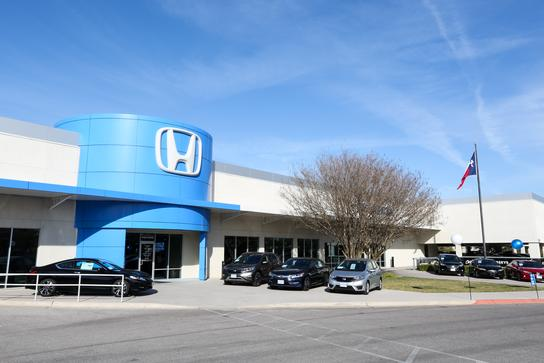 Continental automotive group first texas honda car for Honda dealer austin