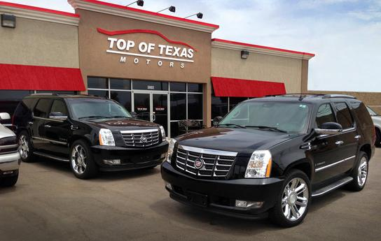 top of texas motors amarillo tx 79102 car dealership