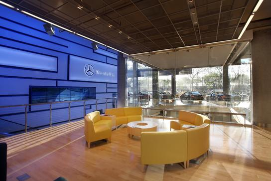 mercedes benz manhattan car dealership in new york ny