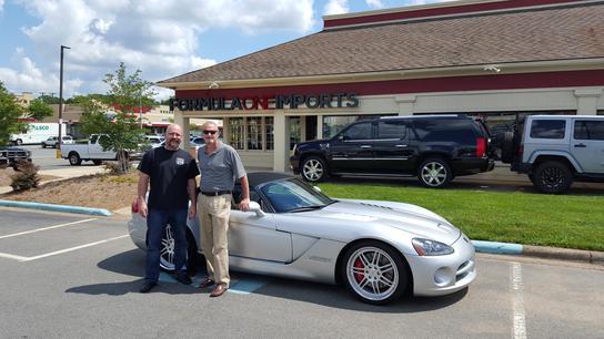 Formula One Imports : CHARLOTTE, NC 28212-0501 Car ...