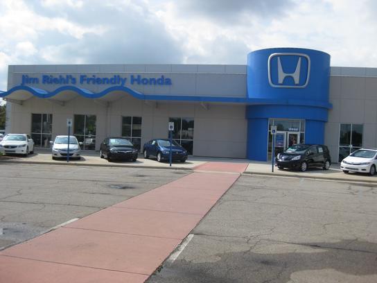 Jim riehl 39 s friendly cadillac honda car dealership in for Honda dealer michigan