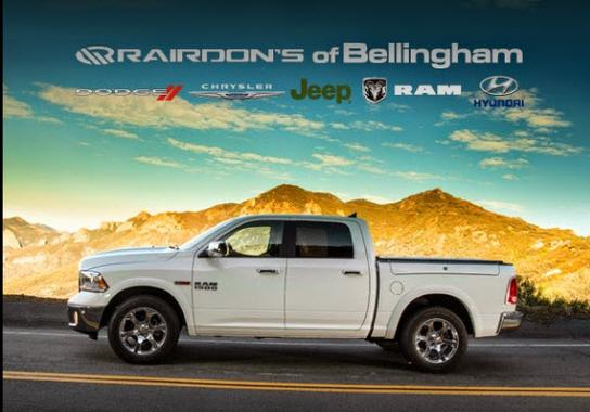 Rairdons Dodge Chrysler Jeep RAM Hyundai of Bellingham 2