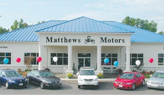 Matthews Motors Clayton Nc 27520 2205 Car Dealership