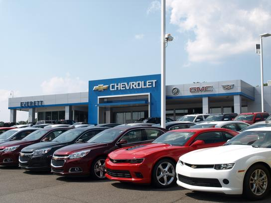 Everett Chevrolet Buick GMC Cadillac Hickory NC Car - Buick dealers in nc