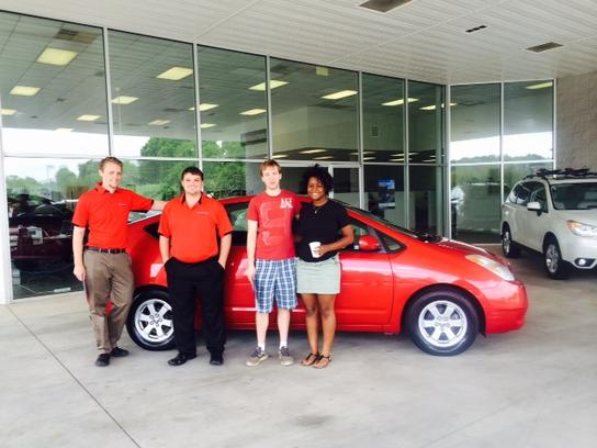 Vic Bailey Mazda Subaru car dealership in Spartanburg SC