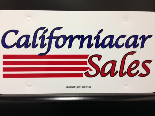 Californiacar Sales 3