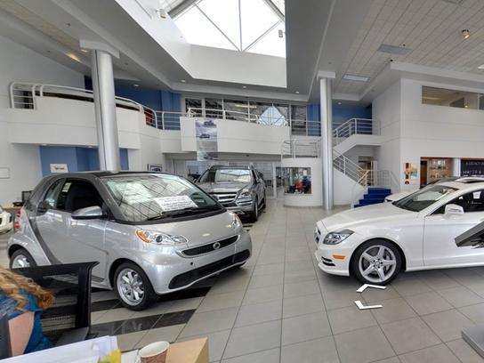 the mercedes benz center at keeler motor car company