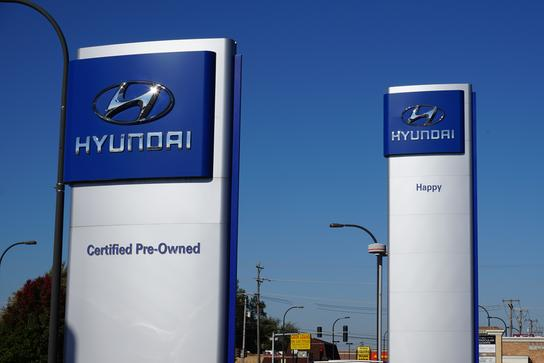 Oak Lawn Happy Hyundai New Hyundai Dealership In Oak
