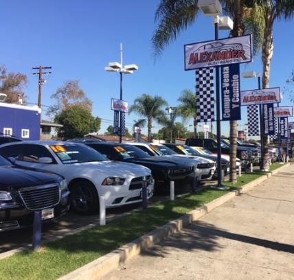 Alexander Auto Sales Inc South Gate Ca 90280 Car