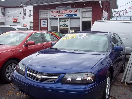 Patriot Used Cars Dedham Ma