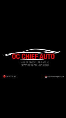 Oc Chief Auto Newport Beach Ca 92660 1738 Car